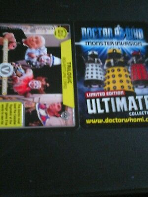 Dr who monster invasion ultimate card number 446 trilogic