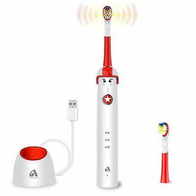 Sonic Electric Toothbrush for Kids and Teenagers, Cartoon Design