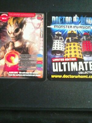 Dr who monster invasion ultimate card number 412 Silurian Warriors