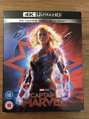 Captain Marvel (4K UHD) *NEW* Brie Larson, Samuel L Jackson, Marvel