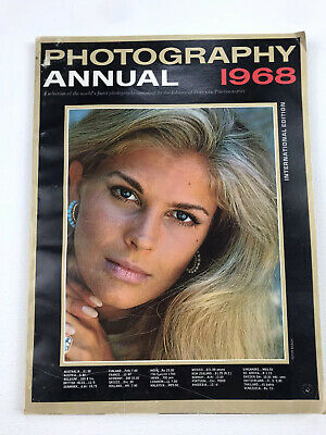 Photography Annual 1968 Vintage Photography Photo Book Magazine Collectors