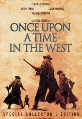Once Upon A Time - In The West - Special Collectors Editi <Region 2 DVD, sealed>
