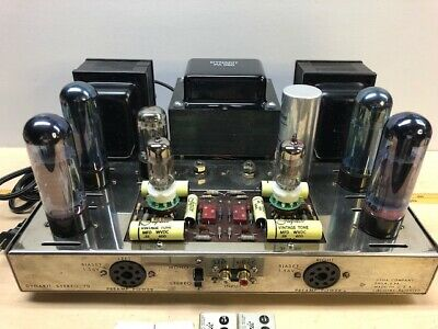 Dynaco ST 70 Vacuum Tube Amplifier. Updated. Sounds Great.
