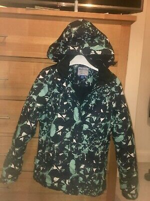 girls skiing jacket mountain wearhouse snow size 6 worn just for a few weeks