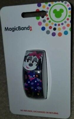 NEW Disney Parks Magic Band 2 Minnie Rock the Dots 2019 Link It Later
