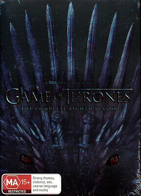 Game of Thrones Complete Eighth Season 8 Final DVD NEW Region 4
