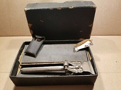 Vintage Safety Razor Stropper Blade Sharpener with Box - The Stag Co.