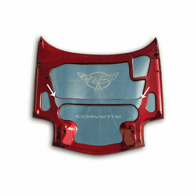 Hood Center Brace Cover for 1997-04 Chevy Corvette C5 [Stainless Steel/Polished]