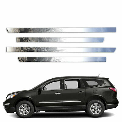 """Diamond Grade 4pc 1/"""" Upper Side Molding for 2010-2014 Chevy Avalanche"""