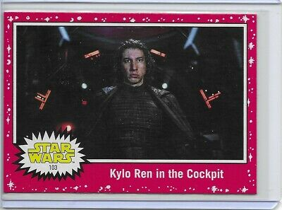 2019 Topps Star Wars Journey to Rise of Skywalker #103 Red Parallel