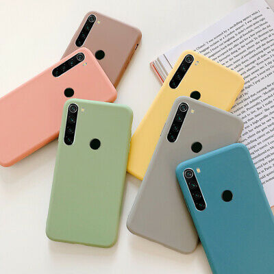 Case For Xiaomi Mi 9 9T Pro A3 Redmi Note 8 7 6 5 4 Pro Matte Soft Rubber Cover