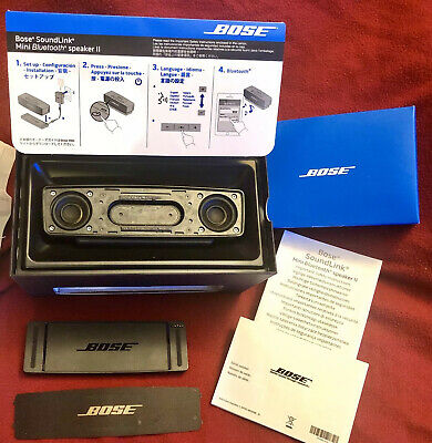 Bose SoundLink Mini II Bluetooth Speaker - Not Working- For Parts Only