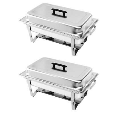 Chafing Dish Buffet Stove Caterer Food Warmer Burner Tray Restaurant Party Hotel