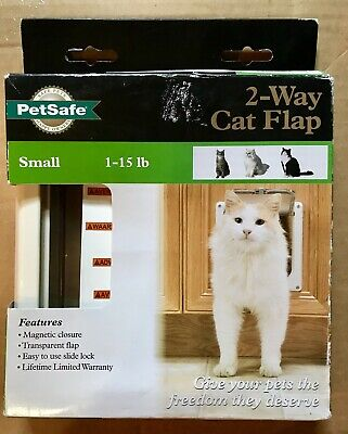 Interior 2-Way Locking Cat/Dog Flap Door Size Small (1-15 lbs) PetSafe Brand