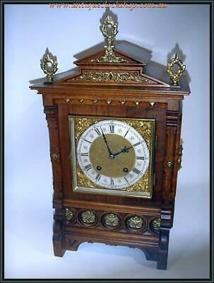 ANTIQUE GERMAN LENZKIRCH MANTLE CLOCK Ca 1890 FREE AUSTRALIAN POSTAGE