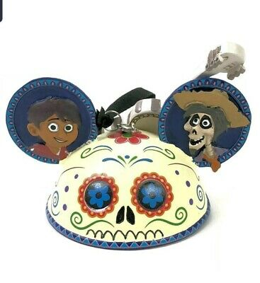 NEW WITH TAGS Disney Parks Coco Miguel and Hector Ear Hat Ornament