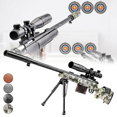 Manual Bolt Action M24 Gel Ball Blaster Mag-fed Water Toy Sniper Gun Toy 4Colors