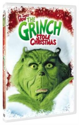DR SEUSS' HOW THE GRINCH STOLE CHRISTMAS (Region 1 DVD,US Import,sealed.)