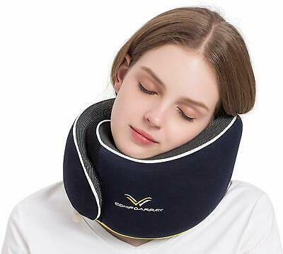 Travel Pillow, Neck Pillow for Airplane and Car. New Upgrade in 2019