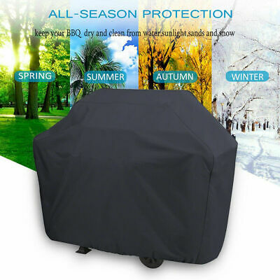 Extrea Large BBQ Cover Heavy Duty Waterproof Barbecue Grill Rain Dust Protector