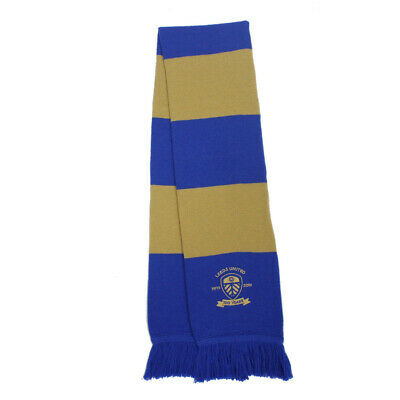 Leeds United Fc * Official* 100 Year Club Scarf** Brand New In Packaging**