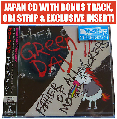Japan Only Bonus Track! Green Day Father Of All Motherfuckers Cd 2020 Pre Order