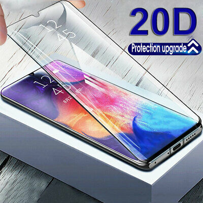 20D Full Tempered Glass Screen Protector for Samsung Galaxy A51 A71 A20 A50 A70