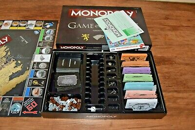 GAME OF THRONES MONOPOLY BOARD GAME COLLECTOR'S EDITION Free UK Delivery