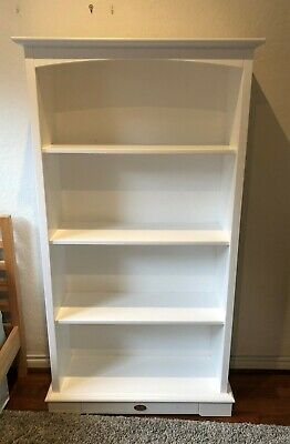 Boori Country Large Solid Bookshelf / Bookcase - Four Shelves - Baby Nursery