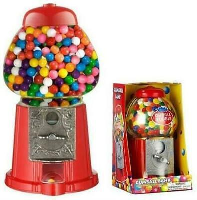 Gumball Machine Bubble Gum Sweet Dispenser Mini Retro Candy Vending Vintage Toy