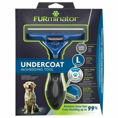 FURminator Undercoat deShedding Tool for Large Long Hair Dog - 261453