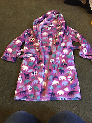 Aged 6-7 Hatley Dressing Gown