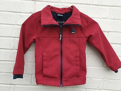 Boys Bench Fleece lined Burgundy jacket Age 3 /4 Years