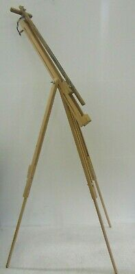 Wooden tripod artists easel -  Windsor and Newton