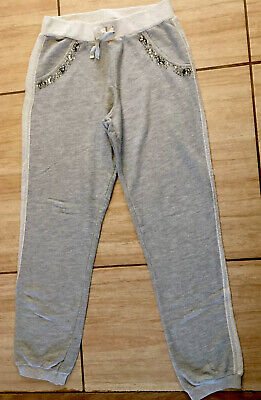 M&S Girl's Grey Joggers Age 12-13 Yr