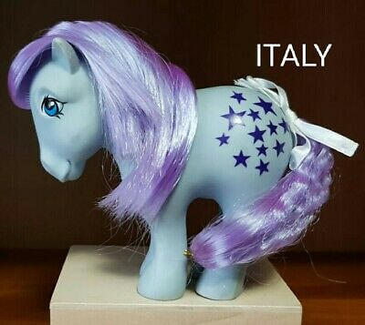 My Little Pony G1 - NIRVANA - BLUE BELLE of 1982 - Made in Italy
