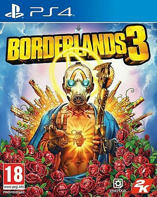 Borderlands 3 PS4 New & Sealed UK PAL & Gold Weapons Skin Pack