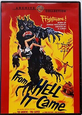 From Hell It Came (1957) - Tod Andrews,Tina Carver - Region 1 DVD