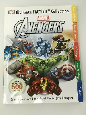 Marvel The Avengers Ultimate Factivity Collection DK