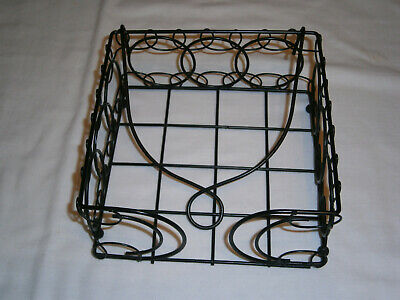 Square wire black Serviette NAPKIN HOLDER