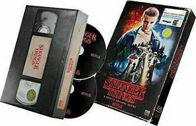 Stranger Things Season 1 4-disc DVD / Blu-