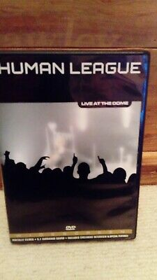 The Human League: Live at the Dome DVD (2005) cert E *VGC*