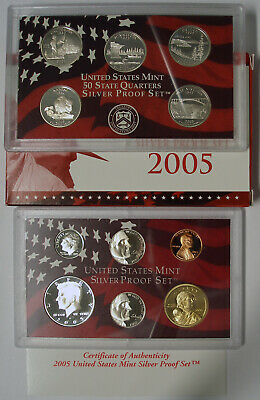 2018- United States Mint Silver Proof Coin Set GEM Proof OGP SKU53495 S
