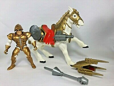 1992 King Arthur & The Knights of Justice Valor the Warhorse & figure Mattel
