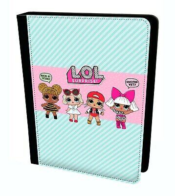 LOL Surprise Doll Babe Cute Girls Gift Tablet Leather Case Cover