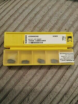 NG1 062 L 1.57mm 4 Kennametal top notch carbide grooving tips NG1062L KC720
