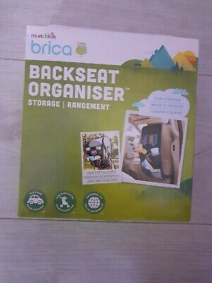 Munchkin Backseat car and pushchair Organiser.