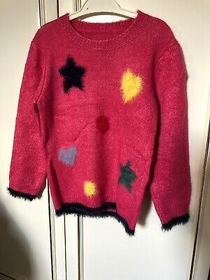 Girls Pink Christmas Jumpers ages 4-5 years New With Tag