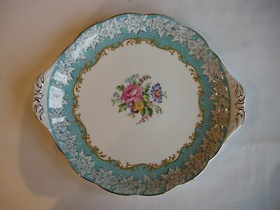 Two Royal Albert Enchantment Cake Plate - Excellent