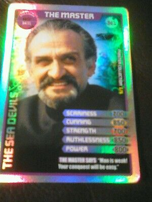 Dr who monster invasion ultimate card number 361 Ltd edition the master